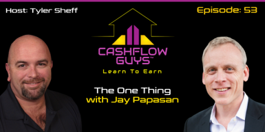 053 The One Thing with Jay Papasan