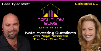 066 Note Investing Questions With Paige Panzarrello The Cash Flow Chick