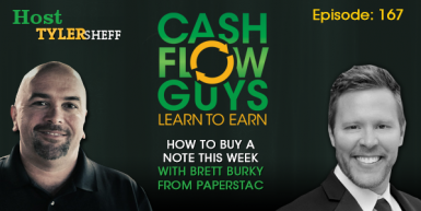 167 How To Buy a Note This Week with Brett Burky from PaperStac