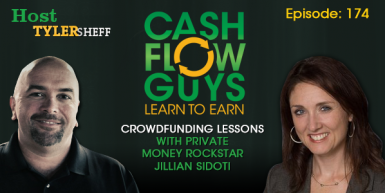 174 – Crowdfunding Lessons with Private Money Rockstar Jillian Sidoti
