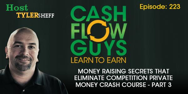 Money Raising Secrets That Eliminate Competition Private Money Crash Course Part 3